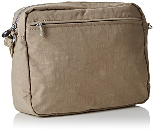 Kipling - Analise, Borse a Tracolla Donna Gris (Warm Grey)