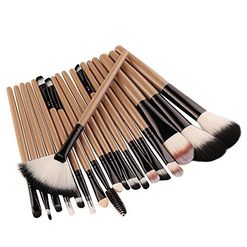 Make-up-Pinselset, mehrteiliges Set Profi-Lidschatten Eyeliner Foundation-Pinselset