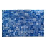 Anwaz Küchen-Öl-Beweis-Wand-Aufkleber-schöner Hochtemperatur-Widerstand Blau