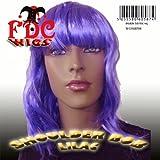 SHOULDER BOB FRINGED FDC WIG ROD CLEOPATRA JESSIE J NICKI MINAJ KATY PERRY lilac (peluca)