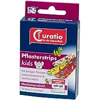 Curatio Pflasterstrips kids, 2 verschiedene Größen, mit lustigen Motiven, 8er Pack(8 x 20 Stück) preisvergleich bei billige-tabletten.eu