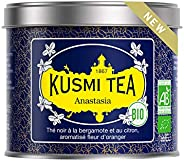 Kusmi Tea -Té Anastasia bio - Té Negro con Bergamota, con sabor a Flor de Azahar - Té Earl Grey Emblemático -