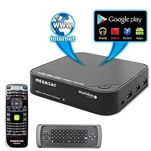 MegaSat Mediabox HD SAT Satelliten Receiver und IP Android 4.0.4 mini PC WiFi WLAN