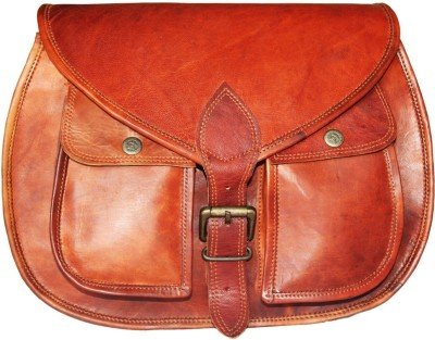 Goatter Genuine Leather Sling Bag For Girls L13
