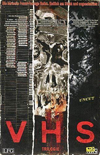 V/H/S - Trilogie - Retro Edition - Limitiert und nummeriert auf 1000 Stück [Blu-ray]