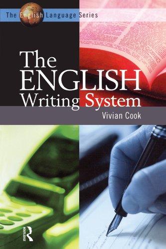 The English Writing System (The English Language Series) por Vivian J Cook
