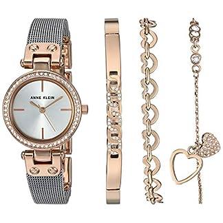 Anne Klein Reloj de Vestir AK/3425RTST