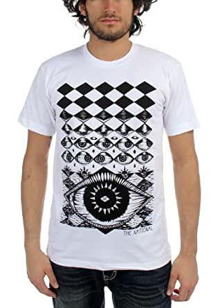 National, The - Mens Eyeball T-Shirt in White, Small, White