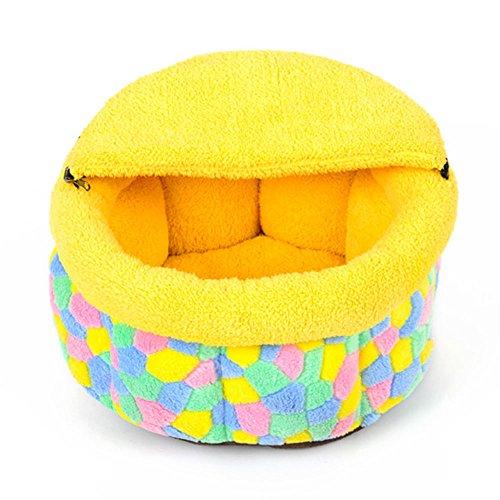 Pet Supplies Maison de chat chaud amovible et lavable Four Seasons Petit Pet Pet Nest, deux tailles En option ( taille : 37cm )