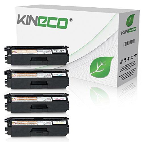 4 Toner kompatibel zu Brother TN-329 für Brother DCP-L 8450CDW, MFC-L8600CDW, MFC-L8850CDW - Schwarz 6.000 Seiten, Color je 6.000 Seiten (Brother Toner-l8600cdw)