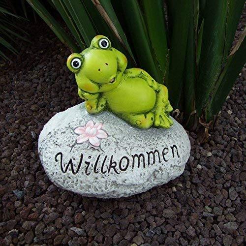 n Frosch Schnecke Schildkröte Gartendeko Eingangsbereich, Variante:Frosch ()
