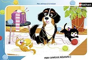Nathan-Puzzle Marco mis Animales de la casa 15Piezas, 86126