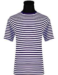 ff440eb71fb416 Thetru Ringel-Shirt Kurzarm Oder Langarm, Gr. XS - XXXL Gestreift,, z.B. Rot  Weiss…