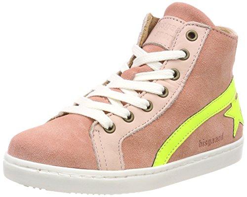 Bisgaard Mädchen Schnürschuhe Hohe Sneaker, Pink (Peach), 31 EU