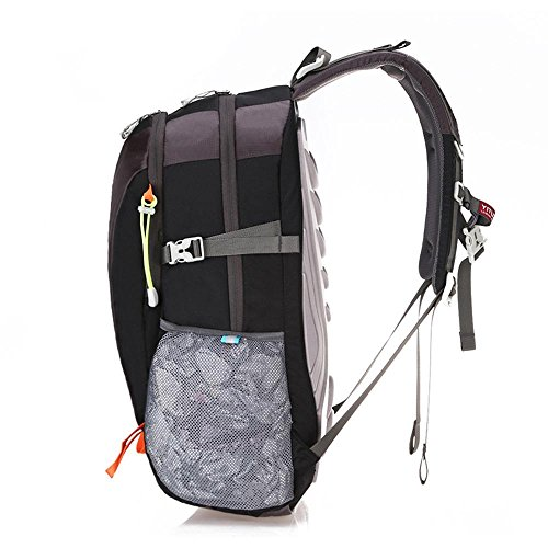Rucksack Bergsteigen Tasche Freizeit Outdoor Tasche Paar Doppel Schulter Tasche Großraum Rucksack Orange