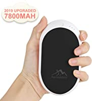 Awroutdoor Calentador de Mano Recargable,7800mAh /5200mAh Calentadores de Manos Bolsillo USB,Banco de Energía Power Bank...