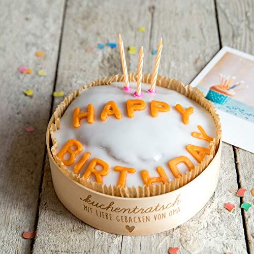 Happy Birthday Geburtstagskuchen von Oma Milena per Post