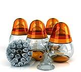 Tomy mOmma Feeding Range Bottle Starter Kit (Orange)