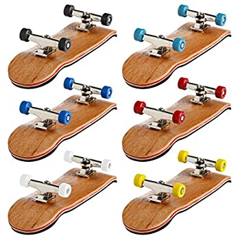 Dairyshop Mini Skateboard Spielzeug, 1pcs Mini Skateboard Spielzeug Fingerboard, Mit Hellblau Basic Lager Räder 4