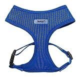 Bunty Adjustable Soft Fabric Dog/Puppy Harness Lead - Small - Blue