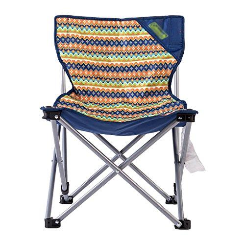 Y HWZDY camping klappstuhl Leichte, langlebige Outdoor-Sitz - Perfekt für Camping, Festivals, Garten, Caravan Trips, Angeln, Strand, BBQs (Farbe : 2)