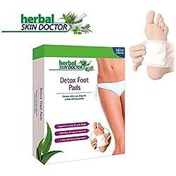 Detox Fußpflaster Zum Abnehmen – Original Detox Pflaster Zur Gewichtsreduktion und Entgiftungskur - Natürliche Entgiftungspflaster Für Männer Und Frauen
