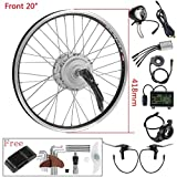 YOSE POWER Frontmotor Umbausatz E-Bike Conversion Kit 20