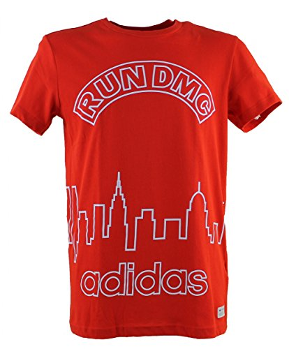Adidas Originals Run DMC T-shirt - rouge - M