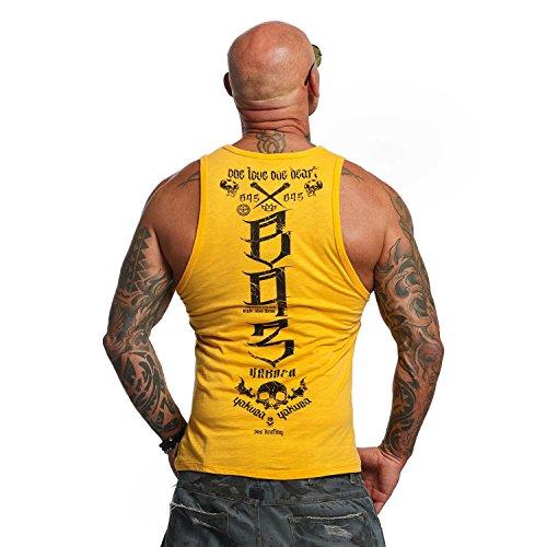 Yakuza Original Herren One Love Tank Top T-Shirt Blazing Orange
