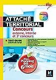 Concours Attaché territorial - Mon planning en 6 mois - Tout-en-un express - Visa Nº1 (French Edition)