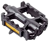 Best Bike Pedals - Raleigh MTB Resin Pedal - Black, 9/16 Inch Review