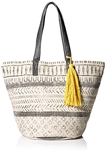 ale-by-alessandra-womens-maya-cotton-rug-bag-with-leather-handles-charcoal-off-white-one-size