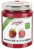 Grashoff - 90% Frucht Erdbeere & Himbeer Fruchtaufstrich - 230g