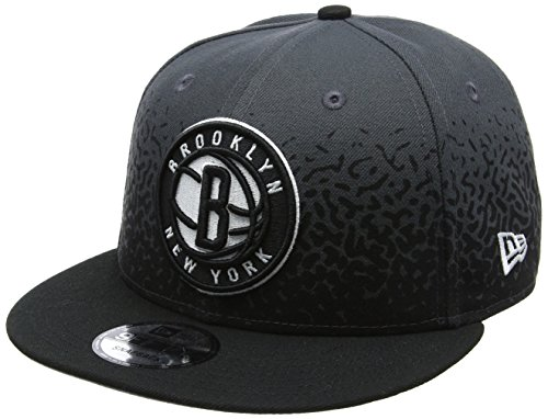 New Era Herren Snapback 9FIFTY Speckle Rise Brooklyn Nets NBA Cap, Grey (Cap Nets Brooklyn)
