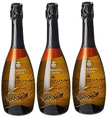 Idea Regalo - Mionetto - Prosecco Doc Treviso   - 3 Bottiglie da 0.75 lt. Luxury