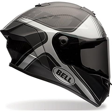 7069612 - Bell Race Star Tracer Motorcycle Helmet XL Matte Black Grey