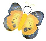 Yellow Butterfly Wings & Antennae Set! Insect Fancy Dress (accesorio de disfraz)
