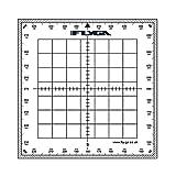 Carte Navigation Rapporteur (carré)–pour Lapl, PPL (A), PPL (H) & CPL aviation pilotes + Marine, le Bateau et bateau Captains