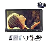 Best Image Bluetooth Audio Receiver For Cars - 2 Din HD Digital touch screen Car DVD Review