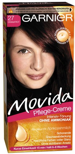 GARNIER - Coloration - MOVIDA - 27 Garnet Red
