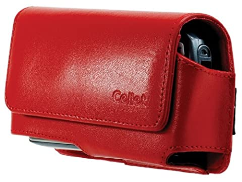 Cellet Horizontal Noble Case with Cellet Removable Spring Belt Clip for Blackberry Pearl 8100, Motorola SLVR L7, L6, & L2 -
