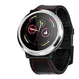 Reloj Inteligente Pulsera con podómetro Bluetooth Rastreador de Ejercicios Monitor de sueño Activo Llamada SMS Reloj Deportivo Hombre Mujer para iOS/Android