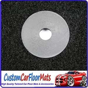 Car Mats Online AG1008POLY Tailored Car Floor Mats Black
