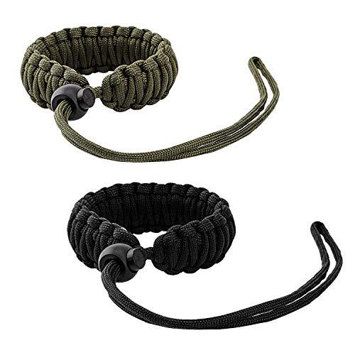 MoKo DSLR/DSLM Handschlaufe Kamera, [2 Stück] Nylon Paracord Kamera-Handschlaufe Wrist Strap Kordel...