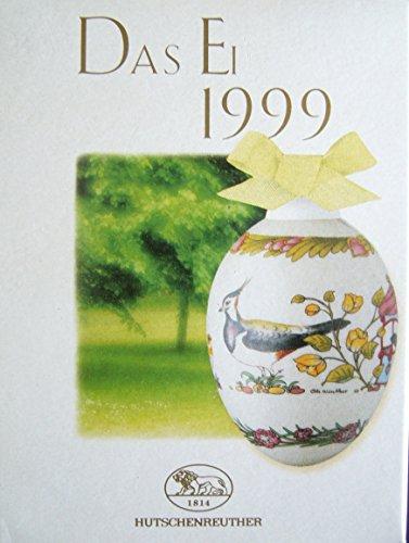 Hutschenreuther Ei 1999 * Rarität * Neu, Osterei, Ostern, Osterstrauss, Anhänger