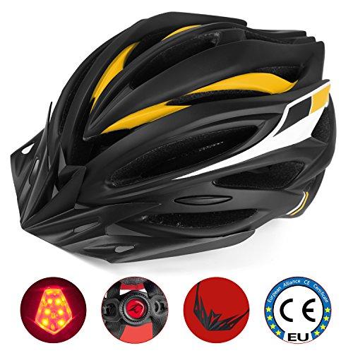 Shinamx Casco Bicicleta con Visera