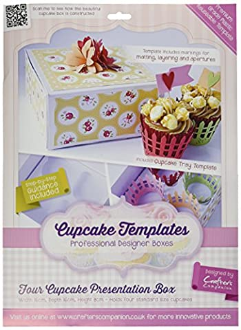 Crafter's Companion Plastic Four Cupcake Presentation Box