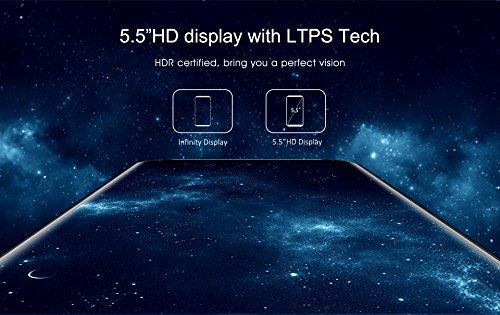 OUKITEL C8 3G Smartphone desbloqueado Huella digital de 5 5 pulgadas  visi  n completa de 18  9  Android 7 0 1 3GHz Quad Core 2GB RAM 16GB ROM 5MP   1