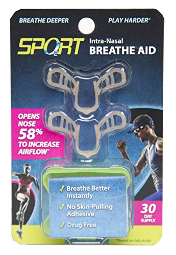 Deporte-Intra nasal respirar ayuda. Talla única