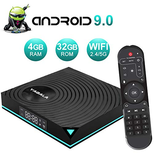 Android 9.0 TV Box 4GB RAM 32GB ROM RK3318 Quad-Core